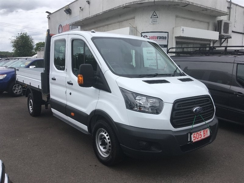 used Ford Transit 2.0 TDCi 350 L3H1 Double Cab 1-Way Tipper RWD 4dr (EU6, DRW) in hertfordshire