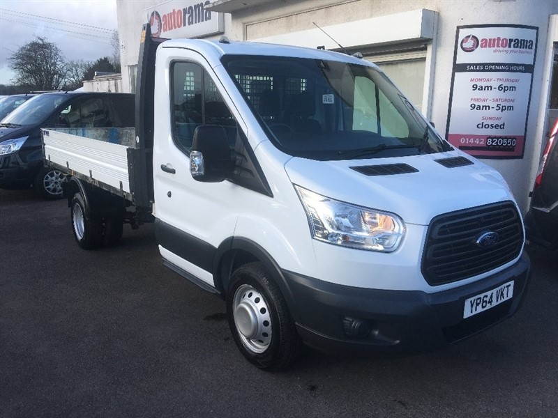 used Ford Transit TDCi 350 L2H1 1-Way Tipper RWD 2dr in hertfordshire
