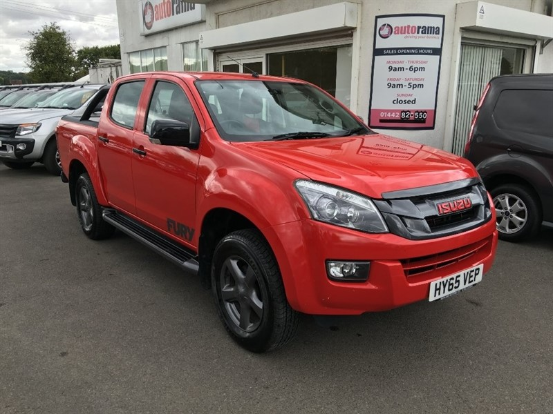 used Isuzu D-Max TD Fury Double Cab Pickup 4x4 4dr in hertfordshire