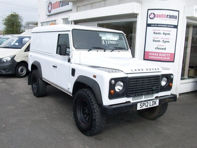 used Land Rover Defender 110 D Hard Top DPF 3dr in hertfordshire