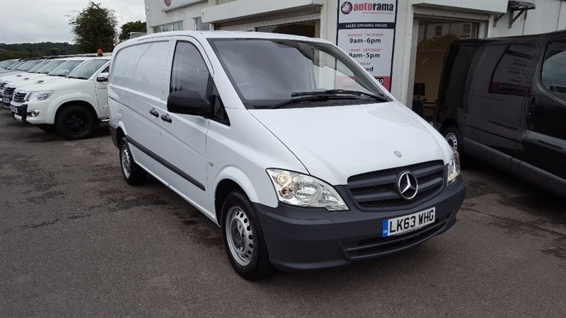 used Mercedes Vito 2.1 113CDI Long Panel Van 5dr (EU5) in hertfordshire