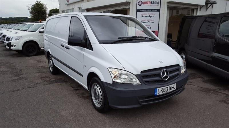 used Mercedes Vito 2.1 113CDI Long Panel Van 5dr (EU5) in hertfordshire