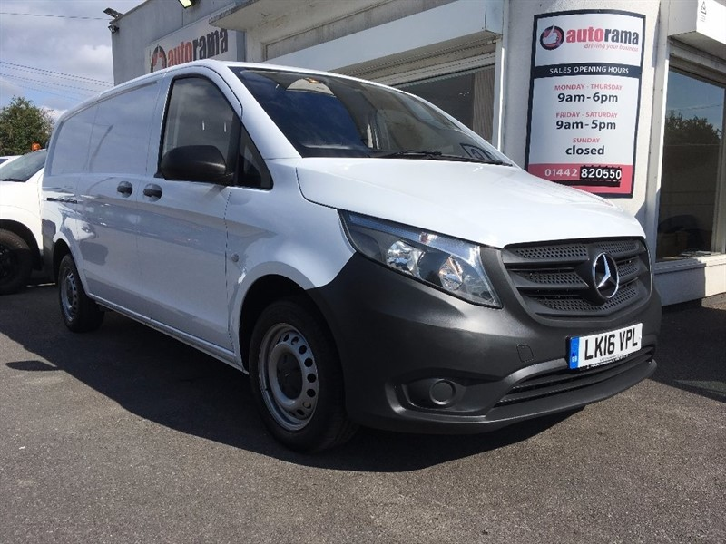 used Mercedes Vito 114CDI BlueTEC Extra Long Panel Van 6dr in hertfordshire