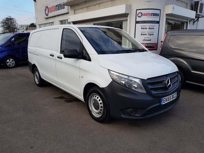 used Mercedes Vito 1.6 111CDI Long Panel Van 6dr in hertfordshire