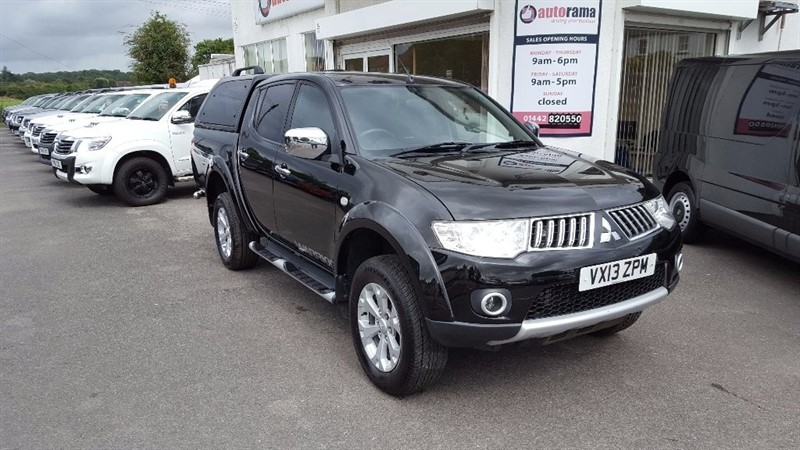 used Mitsubishi L200 DI-D CR Warrior LB Double Cab Pickup 4WD 4dr (EU5, Leather) in hertfordshire