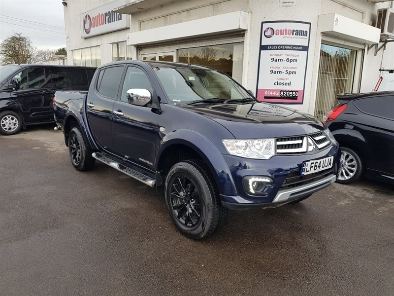 used Mitsubishi L200 DI-D CR Barbarian Double Cab Pickup 4WD 4dr in hertfordshire