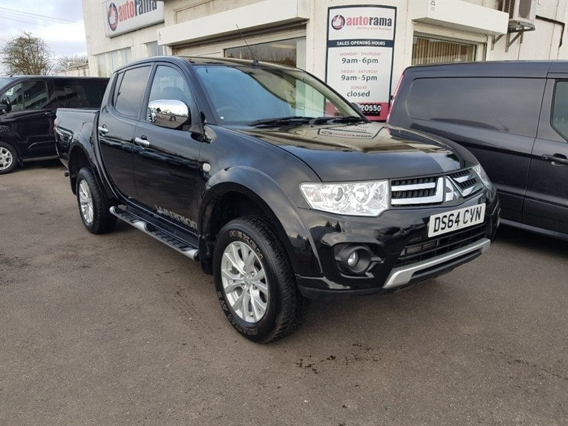 used Mitsubishi L200 DI-D CR Warrior Double Cab Pickup 4WD 4dr in hertfordshire
