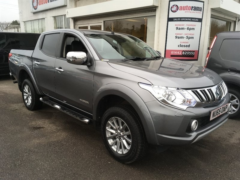used Mitsubishi L200 DI-D Warrior Double Cab 4WD 4dr in hertfordshire