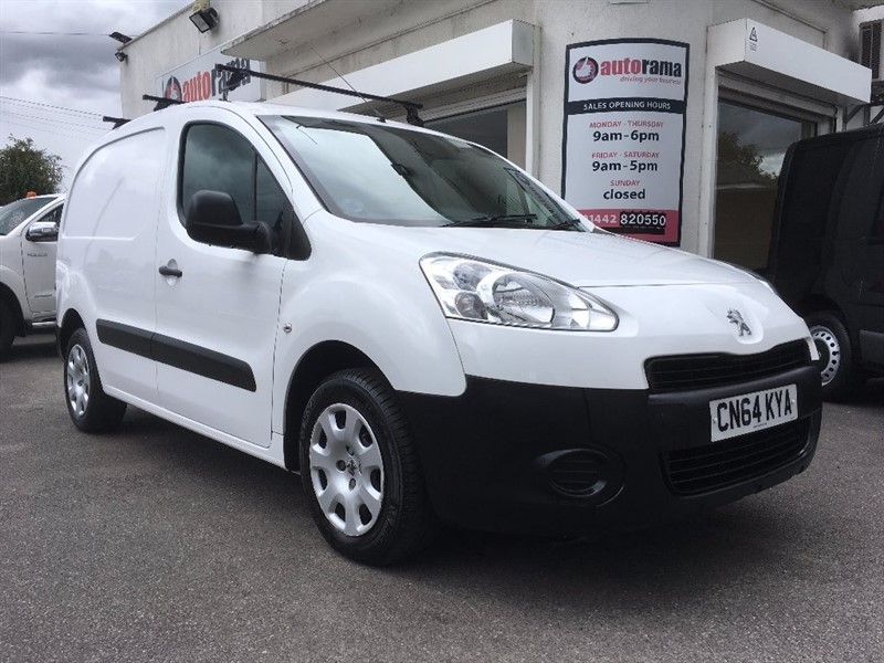 used Peugeot Partner HDi Professional L1 625 5dr in hertfordshire