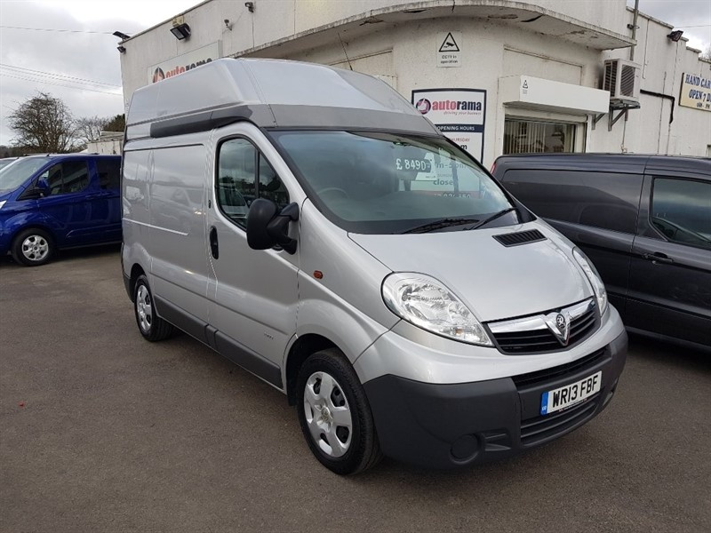 used Vauxhall Vivaro CDTi 2900 High Roof Van 4dr (EU5, SWB) in hertfordshire