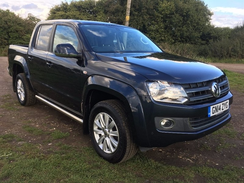 used VW Amarok BiTDi Highline Sel Pickup 4Motion 4dr (3.17t) in hertfordshire
