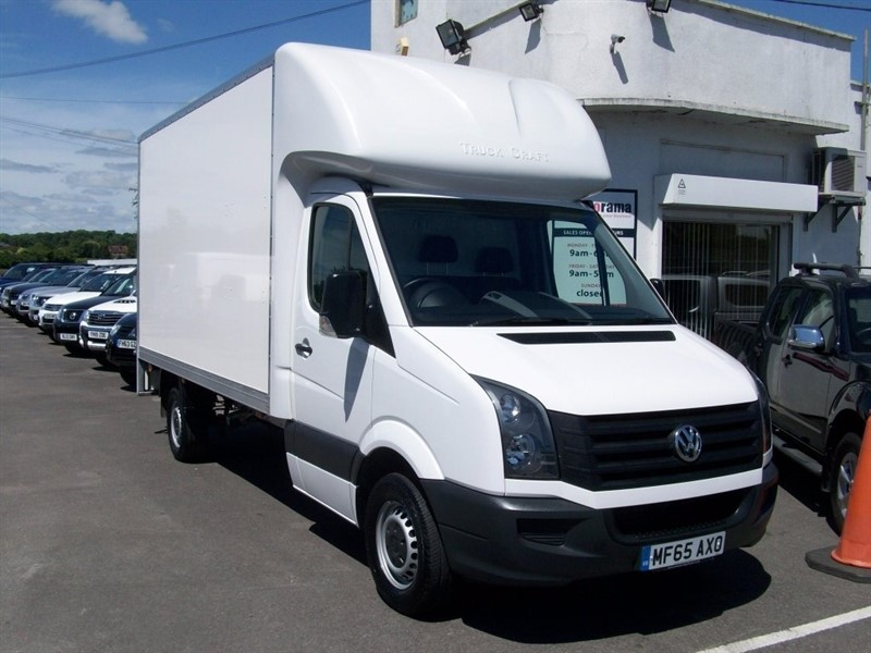used VW Crafter TDI CR35 Luton 2dr (LWB) in hertfordshire