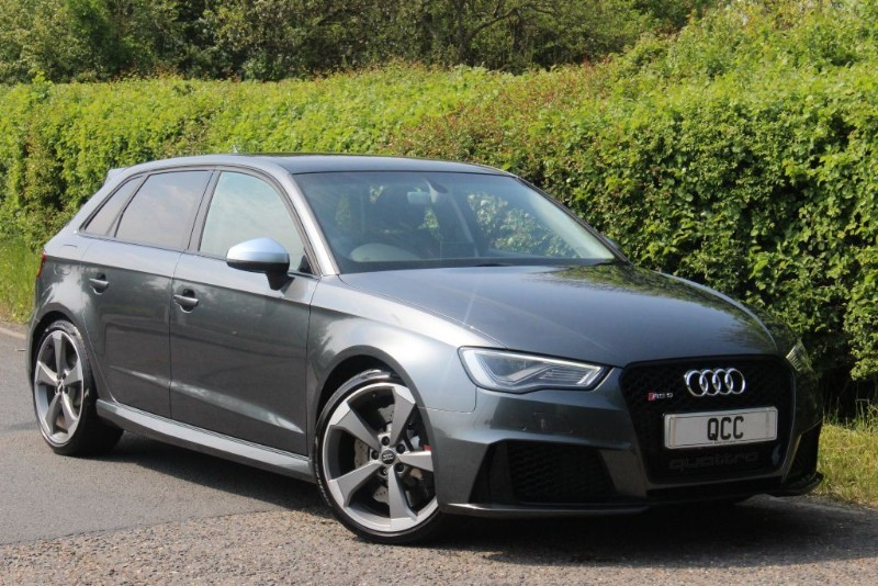 audi rs3 sportback quattro black styling pack quirks car. Black Bedroom Furniture Sets. Home Design Ideas