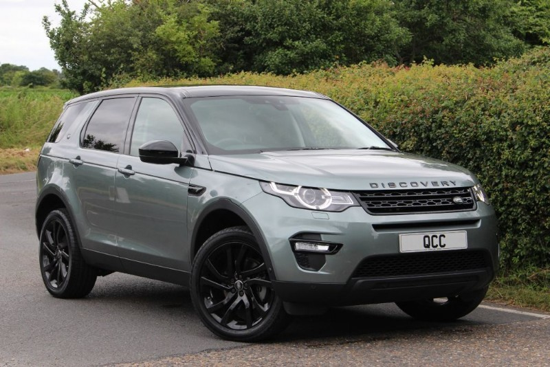 land rover discovery sport 2 0 td4 hse luxury auto. Black Bedroom Furniture Sets. Home Design Ideas