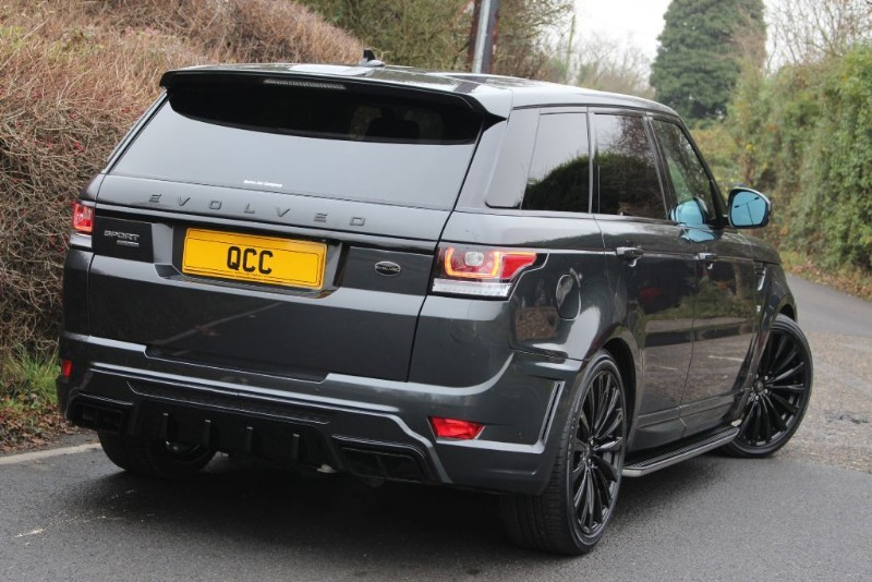 Land Rover Range Rover Sport 3 0 Sdv6 Hse Evolved Conversion