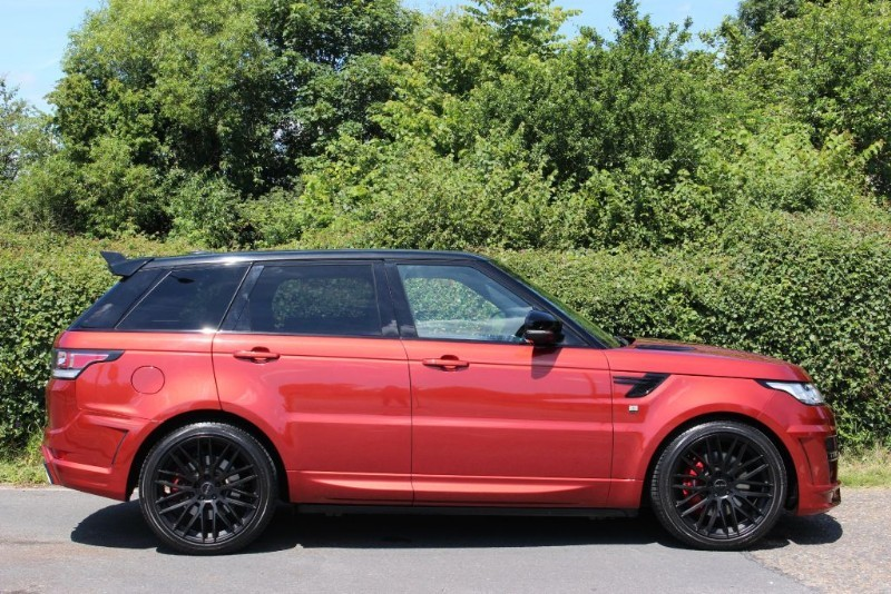 2018 land rover autobiography. fine rover body  in 2018 land rover autobiography