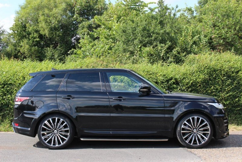 Land Rover Range Rover Sport Sdv6 Hse Rrs 3 Conversion