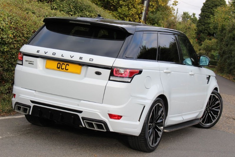Range Rover Black >> Land Rover Range Rover Sport 3.0 SDV6 HSE AUTO EVOLVED RRS 3 CONVERSION | Quirks Car Company