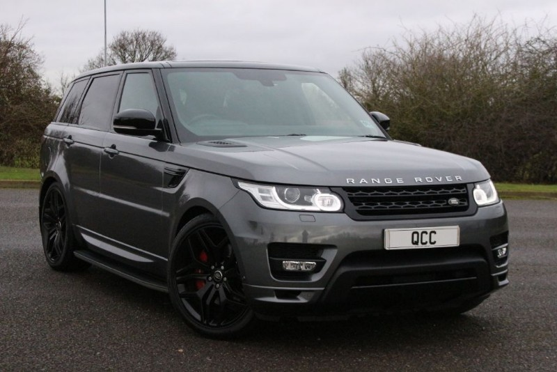 Land Rover Range Rover Sport V8 Autobiography Dynamic Supercharged Black Pack Quirks Car Company