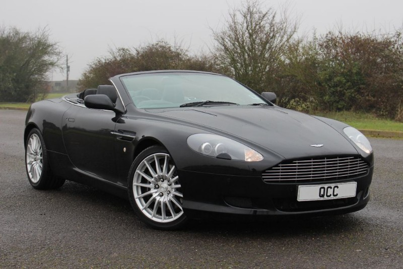 used Aston Martin DB9 V12 VOLANTE in essex-for-sale