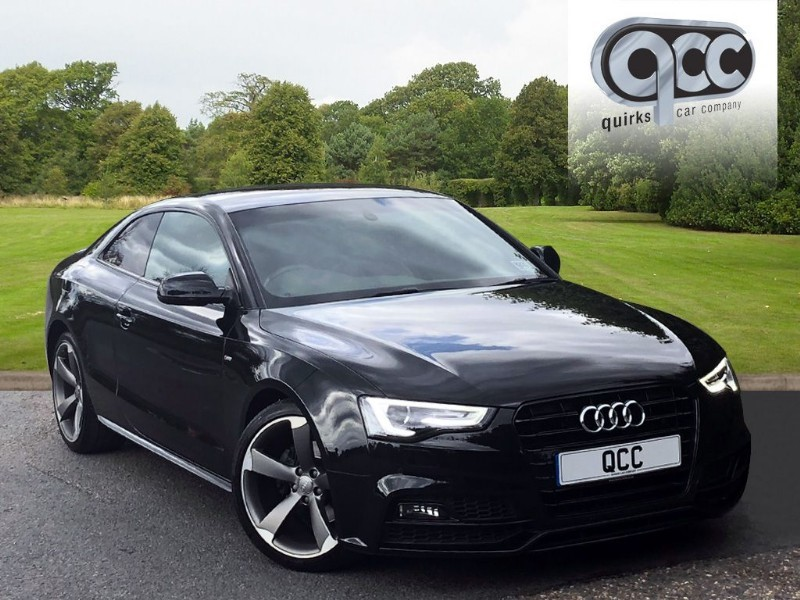 used Audi A5 2.0 TDI S LINE BLACK EDITION PLUS in essex-for-sale