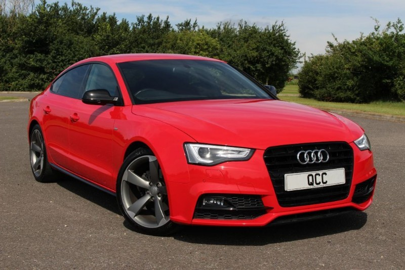 used Audi A5 TDI S LINE SPORTBACK BLACK EDITION PLUS in essex-for-sale