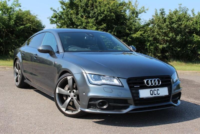 used Audi A7 BiTDi QUATTRO S LINE BLACK EDITION in essex-for-sale