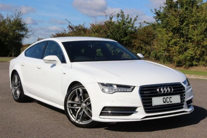 used Audi A7 SPORTBACK TDI QUATTRO S LINE in essex-for-sale