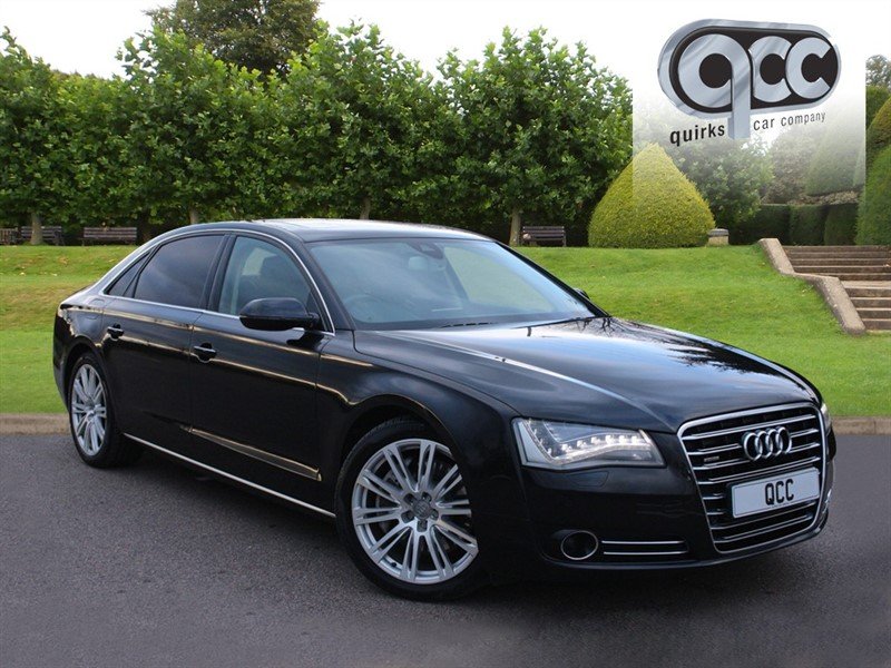 used Audi A8 LWB TFSI QUATTRO SE EXECUTIVE in essex-for-sale