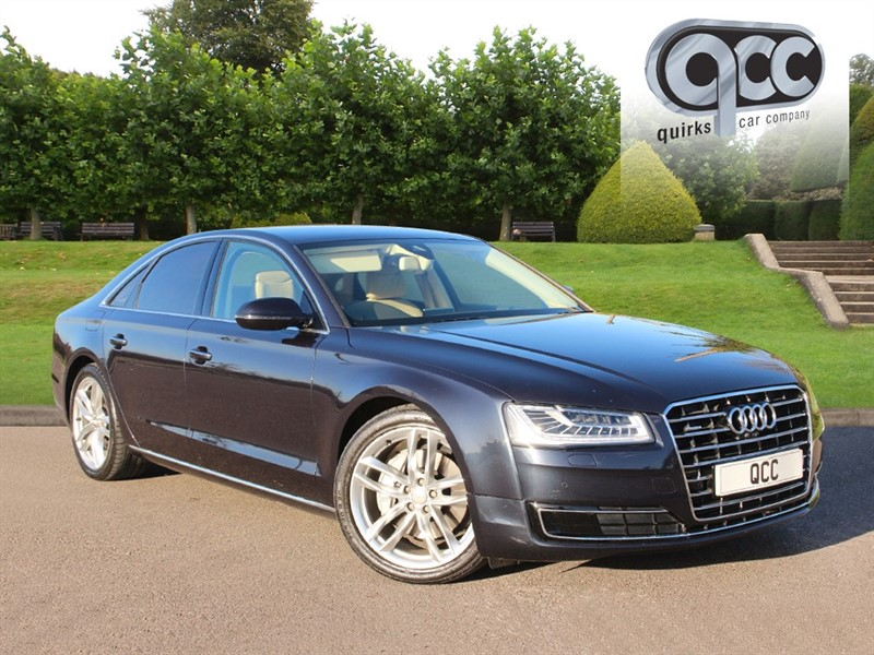 used Audi A8 TDI QUATTRO SPORT EXECUTIVE in essex-for-sale