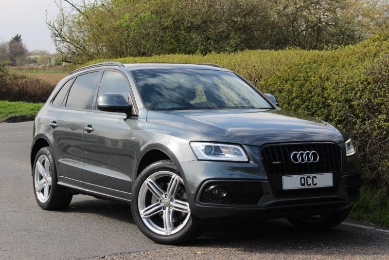 used Audi Q5 TDI QUATTRO S LINE PLUS in essex-for-sale