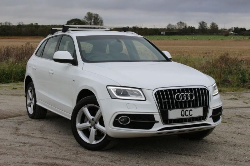 used Audi Q5 TDI QUATTRO S LINE S/S in essex-for-sale