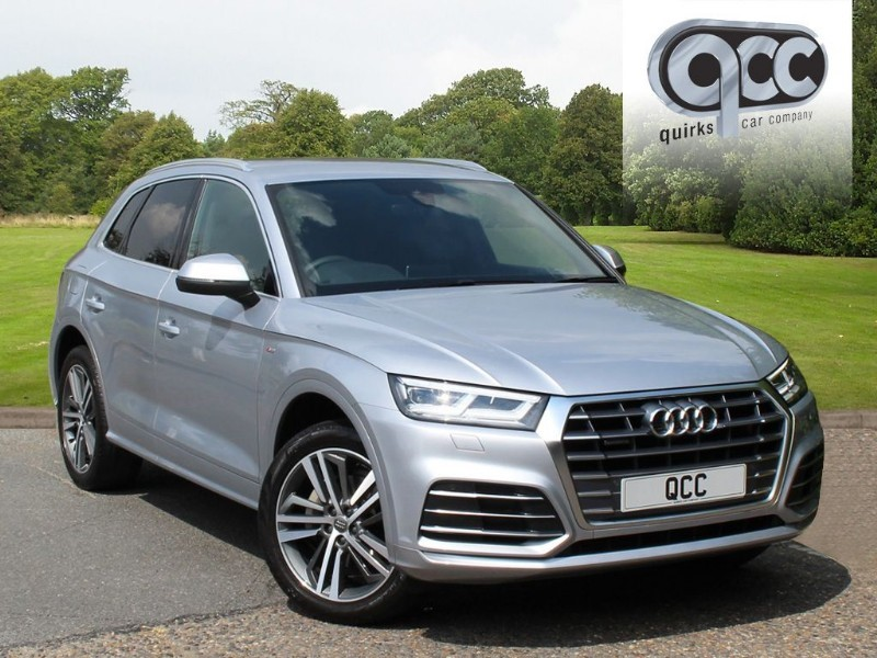 used Audi Q5 2.0 TFSI QUATTRO S LINE in essex-for-sale
