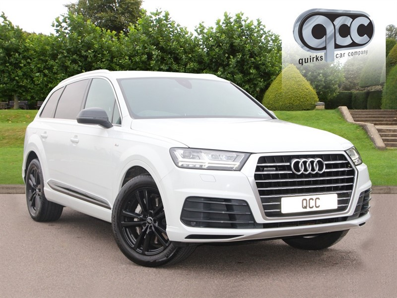 used Audi Q7 TDI QUATTRO S LINE in essex-for-sale