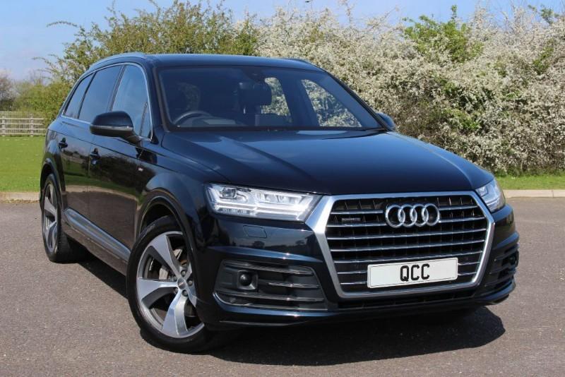 used Audi Q7 TDI QUATTRO S LINE in essex-for-sale