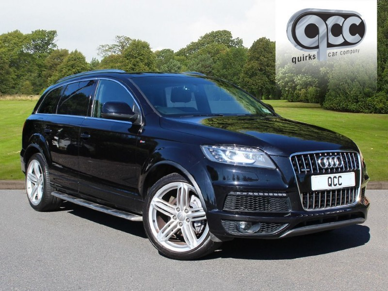 used Audi Q7 TDI QUATTRO S LINE PLUS in essex-for-sale