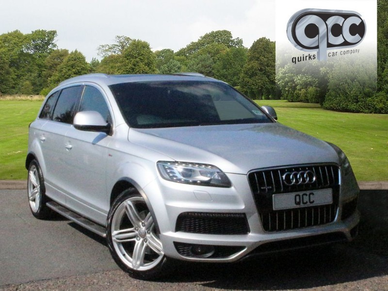 used Audi Q7 3.0 TDI QUATTRO S LINE PLUS in essex-for-sale