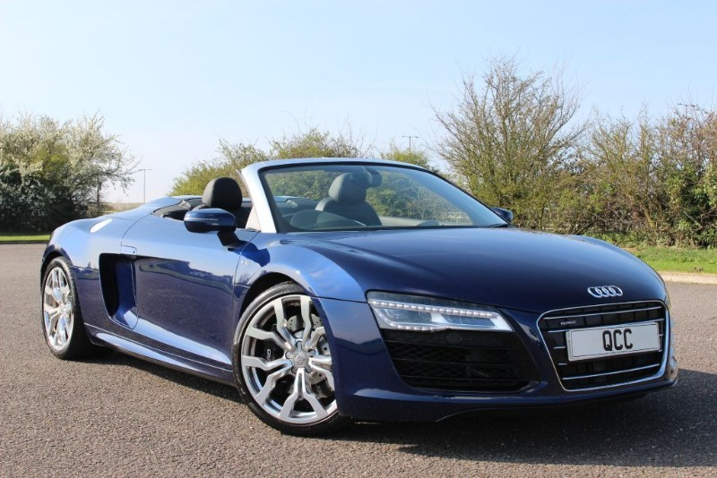 used Audi R8 SPYDER V10 QUATTRO S TRONIC MAG RIDE in essex-for-sale