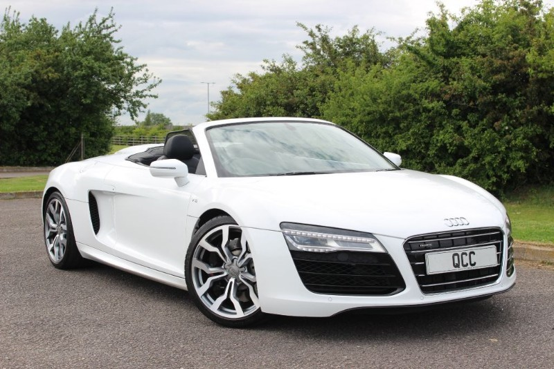 used Audi R8 SPYDER V10 S TRONIC QUATTRO MAG RIDE in essex-for-sale