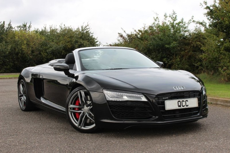 used Audi R8 SPYDER V8 QUATTRO S TRONIC in essex-for-sale