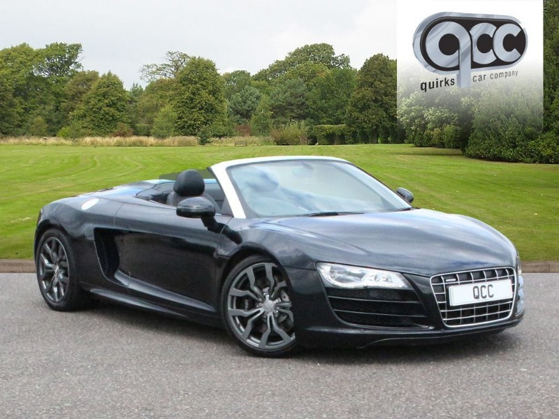 used Audi R8 SPYDER V10 QUATTRO in essex-for-sale