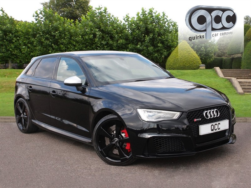 used Audi RS3 S TRONIC SPORTBACK QUATTRO NAV 2.5 in essex-for-sale