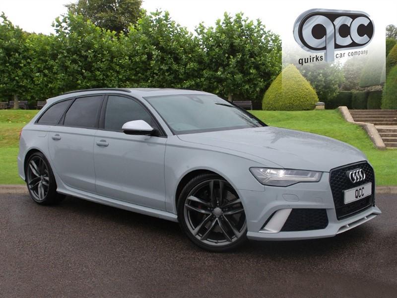 used Audi RS6 Avant AVANT TFSI V8 QUATTRO in essex-for-sale
