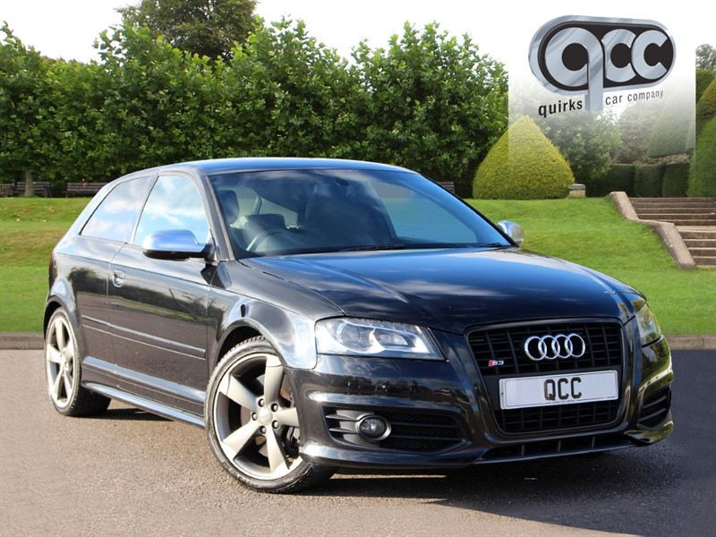 used Audi S3 TFSI QUATTRO BLACK EDITION in essex-for-sale