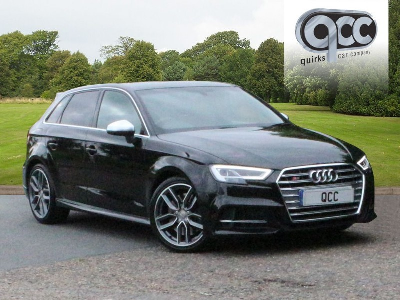 used Audi S3 SPORTBACK QUATTRO in essex-for-sale
