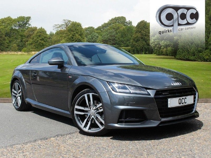 used Audi TT 2.0T TFSI QUATTRO S LINE S-TRONIC in essex-for-sale
