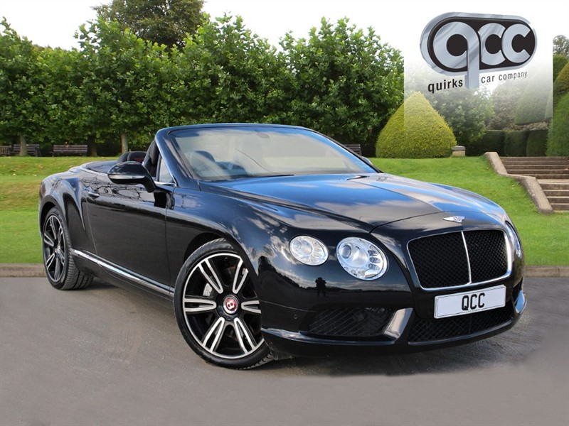 used Bentley Continental GTC 4.0 V8 in essex-for-sale