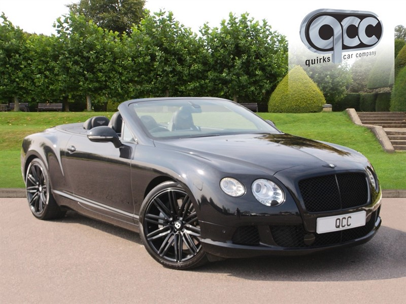 used Bentley Continental GT SPEED CONVERTIBLE in essex-for-sale