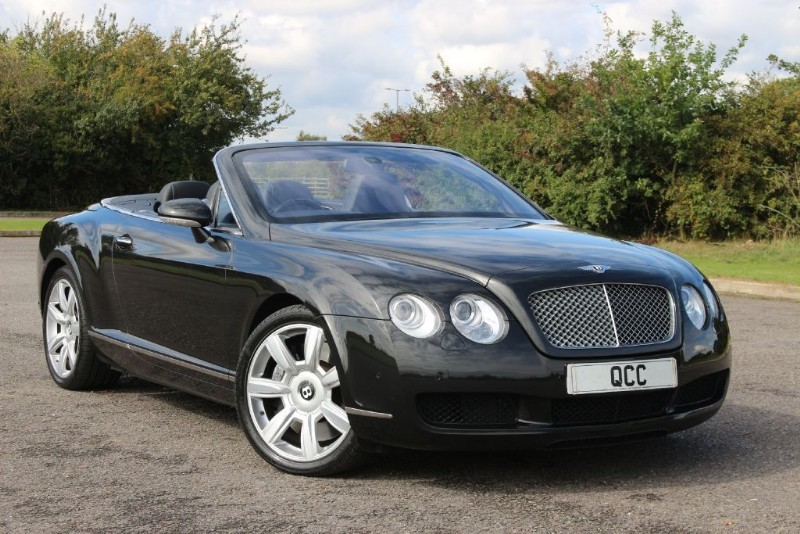 used Bentley Continental GTC 2dr CONVERTIBLE COUPE in essex-for-sale