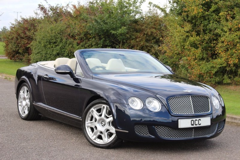 used Bentley Continental GTC MULLINER DRIVING SPEC in essex-for-sale